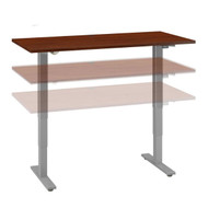 Move 40 Series by Bush Business Furniture 60W x 30D Height Adjustable Standing Desk Hansen Cherry - M4S6030HCSK