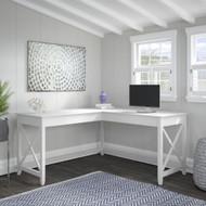 "Bush Key West L-Shaped Desk 60"" - KWD160WT-03"