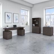 "Bush Business Furniture Jamestown 72""W Desk Package - JTN007SGSU"