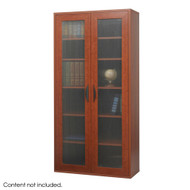Safco Après Tall Cabinet Cherry - 9443CY