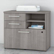 "Bush Business Furniture 400 Series Lower Piler Filer Cabinet 30"",  Platinum Gray -  400SFP30PG"