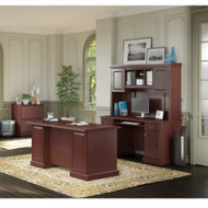 Kathy Ireland by Bush Furniture Bennington Managers Desk Package - BNT001CS