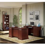 Kathy Ireland by Bush Furniture Bennington Managers Desk Package - BNT005CS