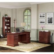 Kathy Ireland by Bush Furniture Bennington Managers Desk Package - BNT003CS
