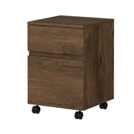 Bush Anthropology 2-Drawer Mobile File Cabinet - ATH011RB