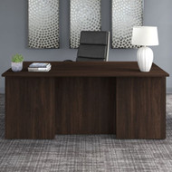 "Bush Business Furniture Office 500 Executive Desk 72"" x 36"" Black Walnut - OFD172BWK"
