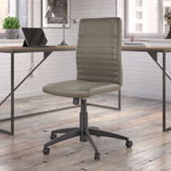 Bush Business Furniture Mid-Back Ribbed Office Chair Washed Gray - CH2601WGL-03