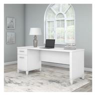 Bush Furniture Somerset 72W Desk White - WC81972