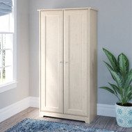 Bush Cabot Collection Tall Storage Cabinet Linen White Oak - WC31197-03