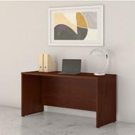 "Bush Business Furniture Studio C Credenza Desk 60"" x 24"" Hansen Cherry - SCD360HC"