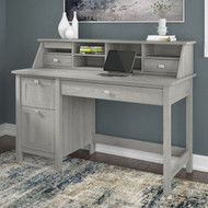 Bush Broadview Single Pedestal Desk & Organizer Modern Gray - BD005MG