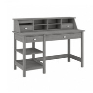 Bush Broadview 54W Computer Desk with Shelves and Desktop Organizer Modern Gray - BD001MG