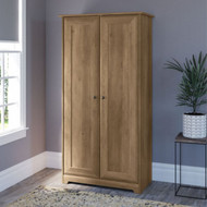 Bush Cabot Collection Tall Storage Cabinet with Doors Reclaimed Pine - WC31597-03