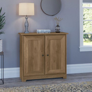 Bush Cabot Collection Small Storage Cabinet with Doors Reclaimed Pine - WC31596-03