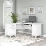 Bush Furniture Somerset 60W L Shaped Desk with Storage - WC81930K