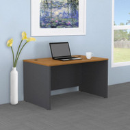 "Bush Business Furniture Series C Desk 48""W x 30""D in Natural Cherry - WC72448"
