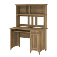 "Bush Furniture Salinas Desk and Hutch 48"" Reclaimed Pine - MY72408-03"
