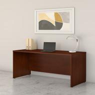Bush Business Furniture Studio C 72W x 30D Office Desk Hansen Cherry - SCD272HC