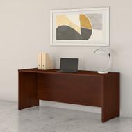 Bush Business Furniture Studio C 72W x 24D Credenza Desk Hansen Cherry - SCD372HC