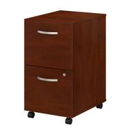 Bush Business Furniture Studio C 2 Drawer Mobile File Cabinet Hansen Cherry - SCF116HCSU
