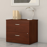Bush Business Furniture Studio C 2 Drawer Lateral File Cabinet Hansen Cherry - SCF136HCSU