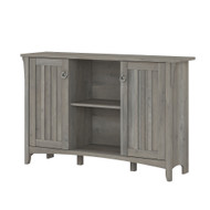 Bush Furniture Salinas Collection Accent Storage Cabinet with Doors Driftwood Gray - SAS147DG-03