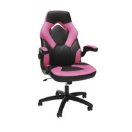 OFM Essentials by OFM Racing Style Leather Gaming Chair Pink - ESS-3085-PNK