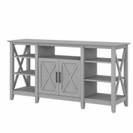 Bush Key West Tall TV Stand for 65 Inch TV Cape Cod Gray - KWV160CG-03