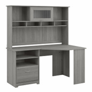 Bush Cabot Collection Corner Desk Package Modern Gray - CAB008MG