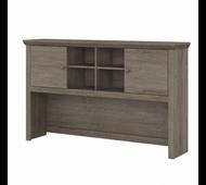 Bush Furniture Yorktown 60W Desk Hutch in Restored Gray - WC40631-03
