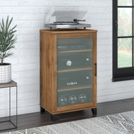Bush Furniture Somerset Media Accent Cabinet Fresh Walnut - AD81340