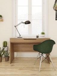 Nexera  Arobas Desk with Drawer, Nutmeg - 601862