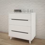 Nexera 4-Drawer Chest, White - 340403