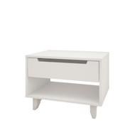 Nexera Nightstand, 1-Drawer, White - 340103
