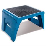 Cramer 1UP Folding Step Stool Blue - 50051PK-63
