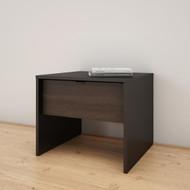 Nexera Nightstand, 1-Drawer, Black and Ebony - 212106