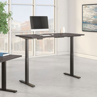 Bush Furniture Move 60 Series 60W x 30D Height Adjustable Table Standing Desk - M6S6030SGBK