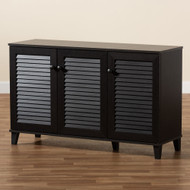 Wholesale Interiors Baxton Studio Warren Espress Storage Cabinet - FP-04LV-Espresso