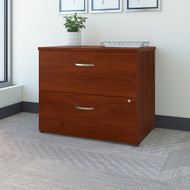 Bush Business Furniture 2 Drawer Lateral File Cabinet Assembled Hansen Cherry - FTR005HCSU