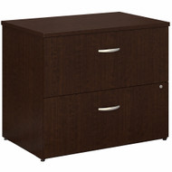 Bush Business Furniture 2 Drawer Lateral File Cabinet - Assembled - FTR005MRSU