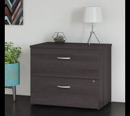 Bush Business Furniture 2 Drawer Lateral File Cabinet - Assembled - FTR005SGSU