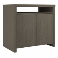 Bush Furniture Bristol Accent Storage Cabinet with Doors Restored Gray - BRS132RT-03