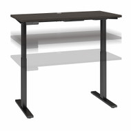 Move 60 Series by Bush Business Furniture 48W x 30D Height Adjustable Standing Desk Storm Gray- M6S4830SGBK