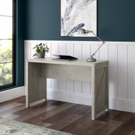 Kathy Ireland Bush Furniture Cottage Grove 48W Farmhouse Writing Desk in Cottage White - CGD148CWH-03