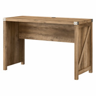 Kathy Ireland Bush Furniture Cottage Grove 48W Farmhouse Writing Desk in Reclaimed Pine -CGD148RCP-03