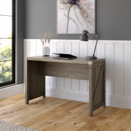 Kathy Ireland Bush Furniture Cottage Grove 48W Farmhouse Writing Desk Restored Gray - CGD148RTG-03