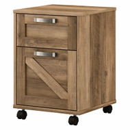 Kathy Ireland Bush Furniture Cottage Grove 2 Drawer Mobile File Cabinet Reclaimed Pine - CGF116RCP-03