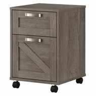 Kathy Ireland Bush Furniture Cottage Grove 2 Drawer Mobile File Cabinet Restored Gray - CGF116RTG-03