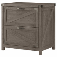 Kathy Ireland Bush Furniture Cottage Grove 2 Drawer Lateral File Cabinet Restored Gray - CGF129RTG-03