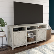 Kathy Ireland® Home by Bush Furniture Cottage Grove 65W Farmhouse TV Stand for 70 Inch TV in Cottage White - CGV165CWH-03